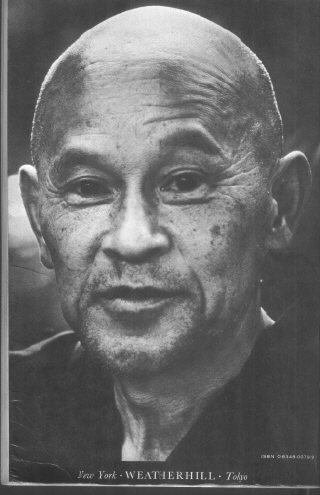 ZMBM back cover Shunryu Suzuki photo